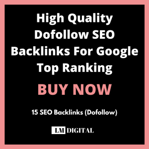 High Quality Dofollow Seo Backlinks For Google Top Ranking